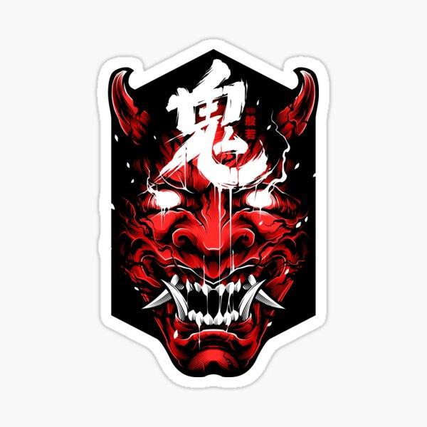 Hannya Demon - Bloody Version Sticker