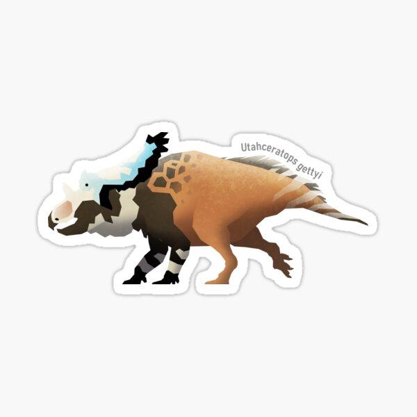 Utahceratops gettyi Sticker