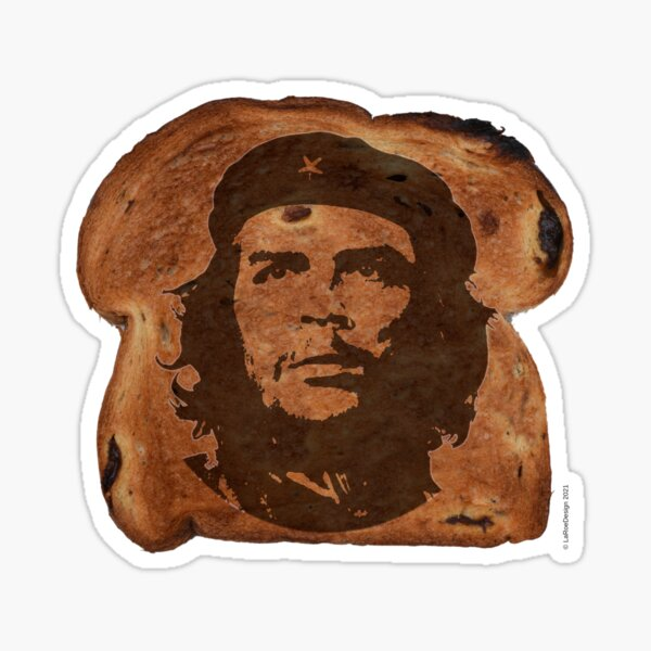 Che Guevara on Toast Sticker