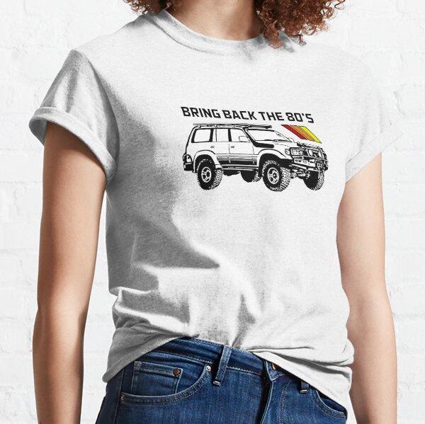 Toyota Land Cruiser   Bring Back the 80s Classic T-Shirt