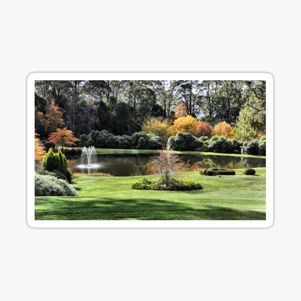 Bisley Gardens - Mt Wilson NSW Australia Sticker