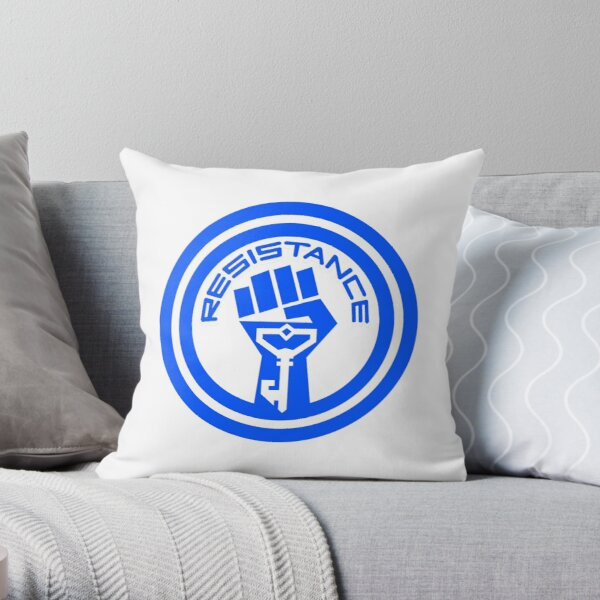 The Resistance  Throw Pillow