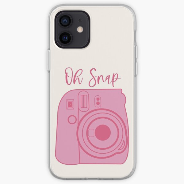 Oh Snap! Polaroid-style Pink Camera iPhone Soft Case