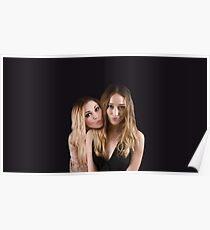 Eliza Taylor and Alycia Debnam Carey - Comic Con - The 100 Poster Poster