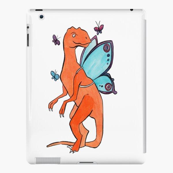 Butterfly Fairy Velociraptor  iPad Snap Case