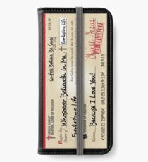 Jesus Paid in Full Check Christian iPhone Wallet/Case/Skin