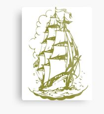 ships-ahoy Metal Print