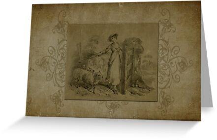 The Shepherdess by Sandra Foster