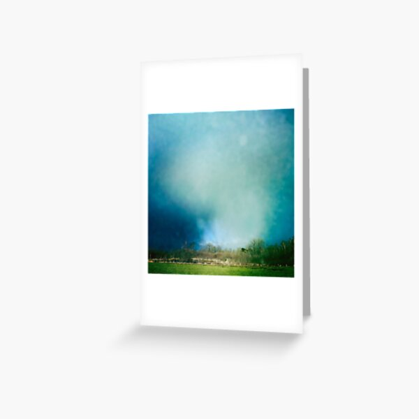 Clouds in spring  Greeting Card