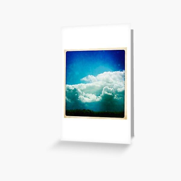 Dutch clouds  Greeting Card