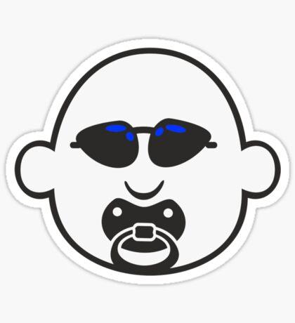 Baby Gangsta Face VRS2 Sticker