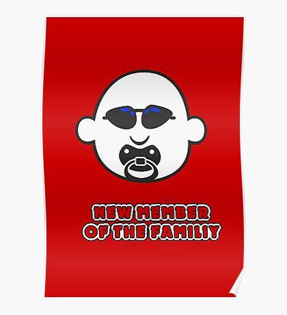 Baby Gangsta Face VRS2 Poster