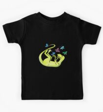 Iss-raaaaah the Velociraptor and the Butterflies Kids Tee