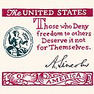 Lincoln Freedom Statement by Cleave