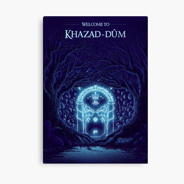 Wecome to Khazad-dum  Canvas Print