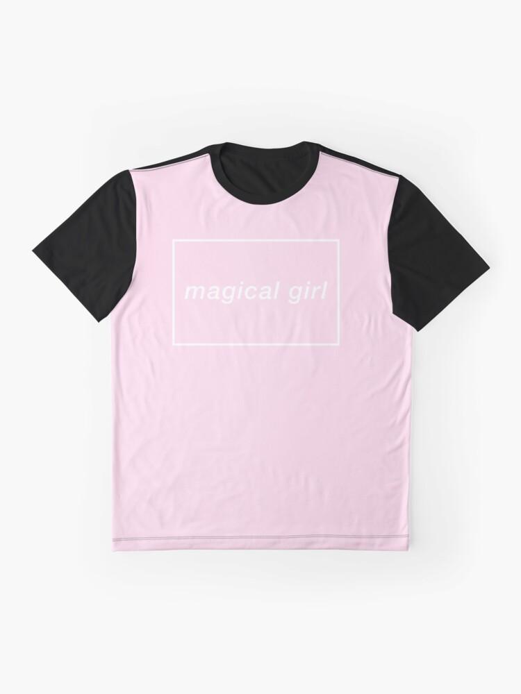 Alternative Ansicht von magisches Mädchen Grafik T-Shirt