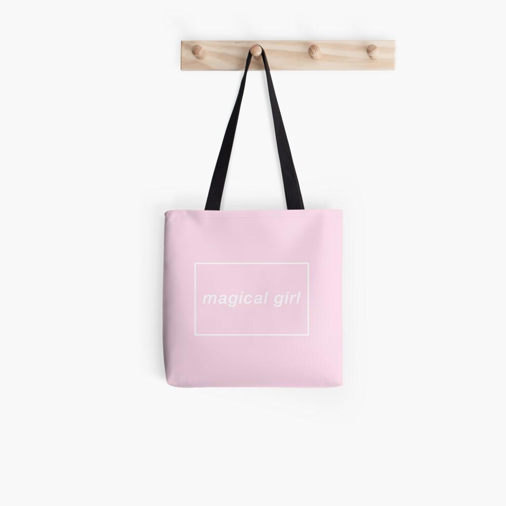 magisches Mädchen Stofftasche
