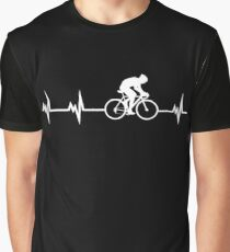 Cycling Heartbeat Graphic T-Shirt