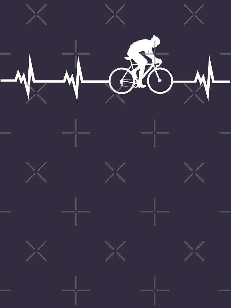 Cycling Heartbeat | Unisex T-Shirt