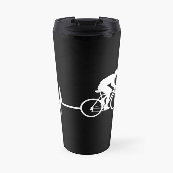 Cycling Heartbeat Travel Mug