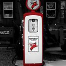 Americana Series:  Texaco Pump by Rebecca Bryson