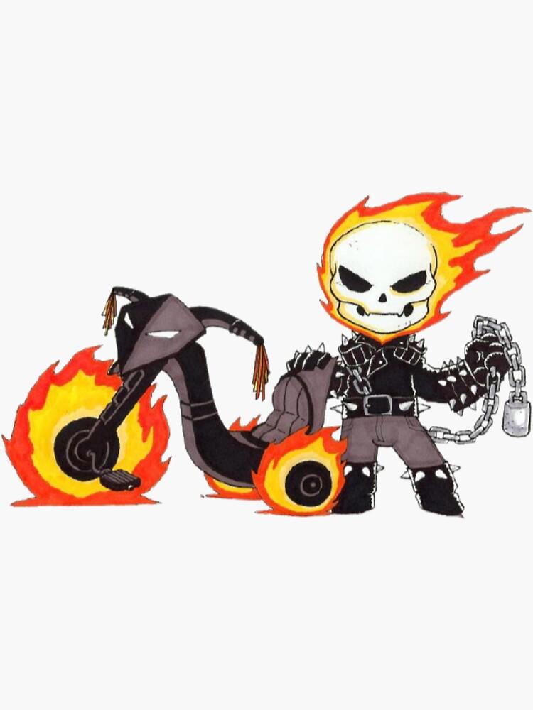 Ghost Rider by AbihaTamim