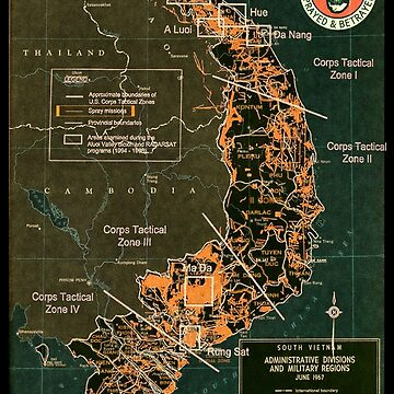 Agent Orange Spray Map by Deadscan