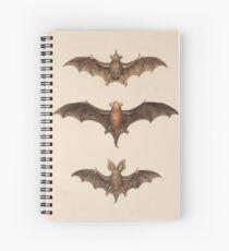 Bats Spiral Notebook