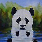 SURREAL PANDA by VisionaryImagist