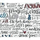 Philippians 4:6-7 NLT : Design 3 by marjoriejackson