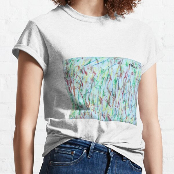 Colours Swirling by Moses Classic T-Shirt
