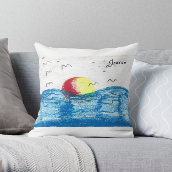 Days of Peace by Sharon  Throw Pillow