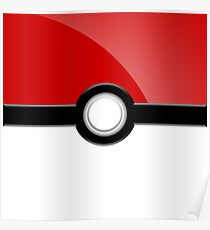 Poke´ Ball - Red Poster