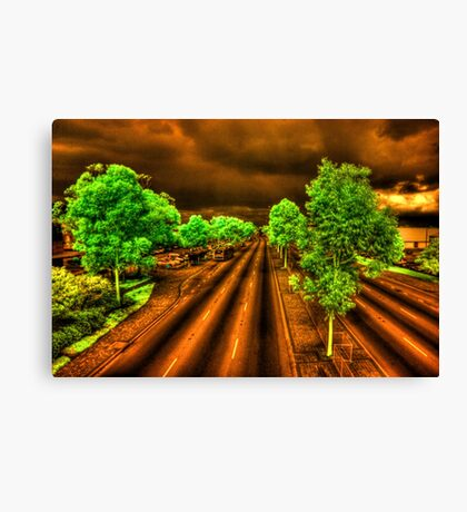 'Missed the bus', Albany Hwy, Cannington, Perth Canvas Print