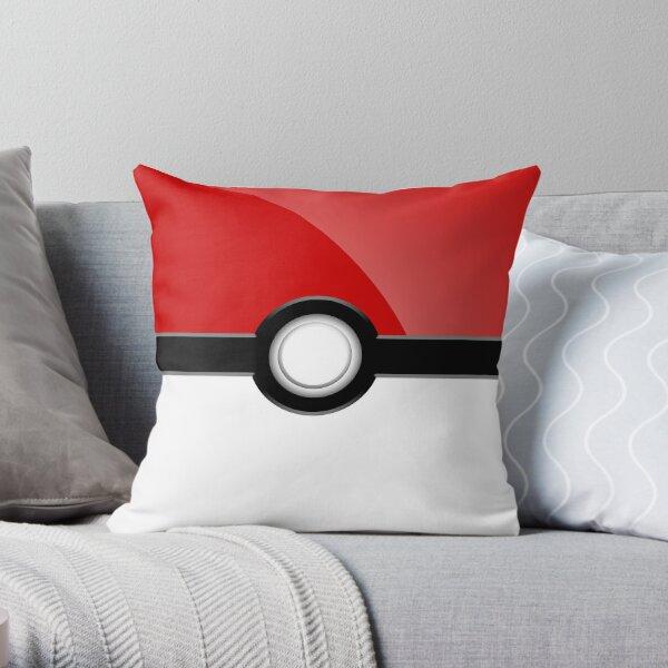 Poke´ Ball - Red Throw Pillow
