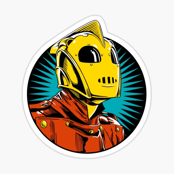 The Rocketman Sticker