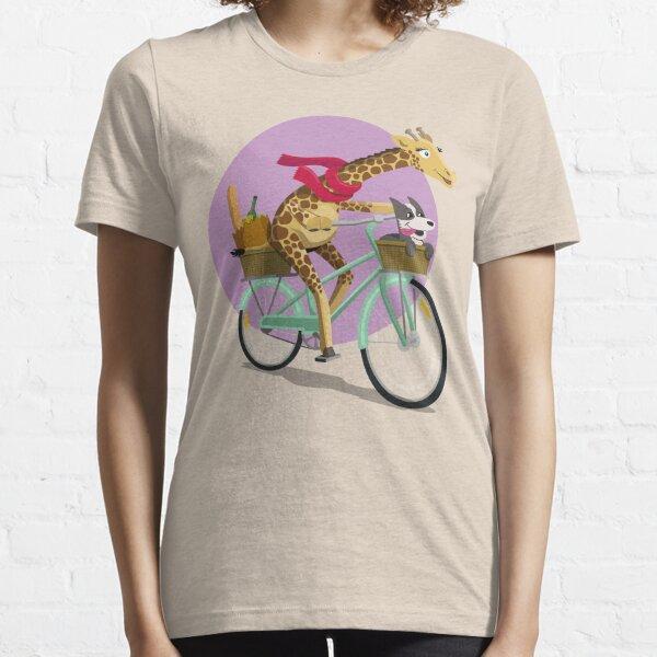 Giraffe Bicycle Essential T-Shirt