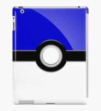 Poke´ Ball - Blue iPad Case/Skin
