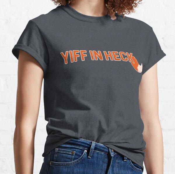 Yiff à Heck T-shirt classique