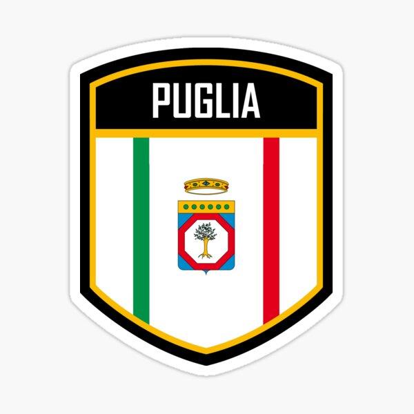 Puglia Italy Flag Emblem Sticker