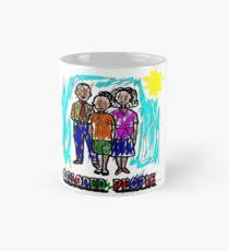 Funny Colored People Drawing Mug