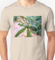 Praying Mantis in my garden Unisex T-Shirt