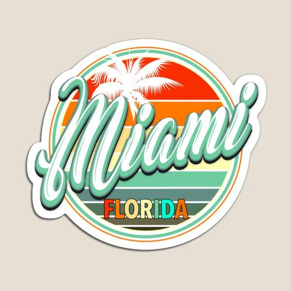 Summer Beach Holiday - Miami Magnet