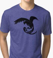 Team Mystic Silhouette Tri-blend T-Shirt