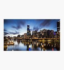 Melbourne Cityscape Photographic Print
