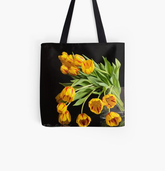 Joyous All Over Print Tote Bag