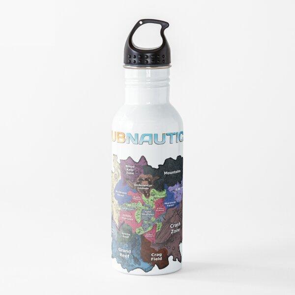 Subnautica Map Water Bottle