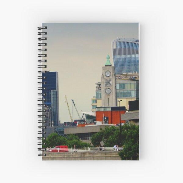 Walkie Talkie building, London Spiral Notebook