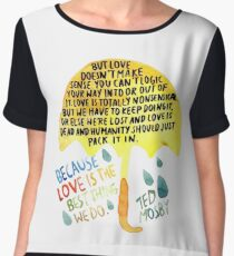 """HIMYM: """"Best thing we do"""" Chiffon Top"""