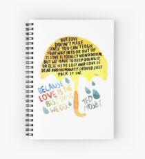 "HIMYM: ""Best thing we do"" Spiral Notebook"